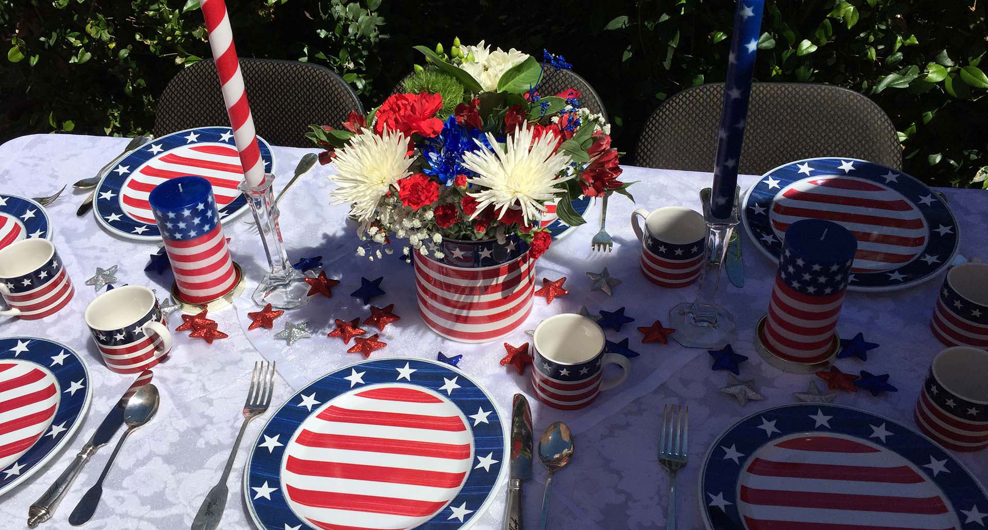 July Fourth Table Design