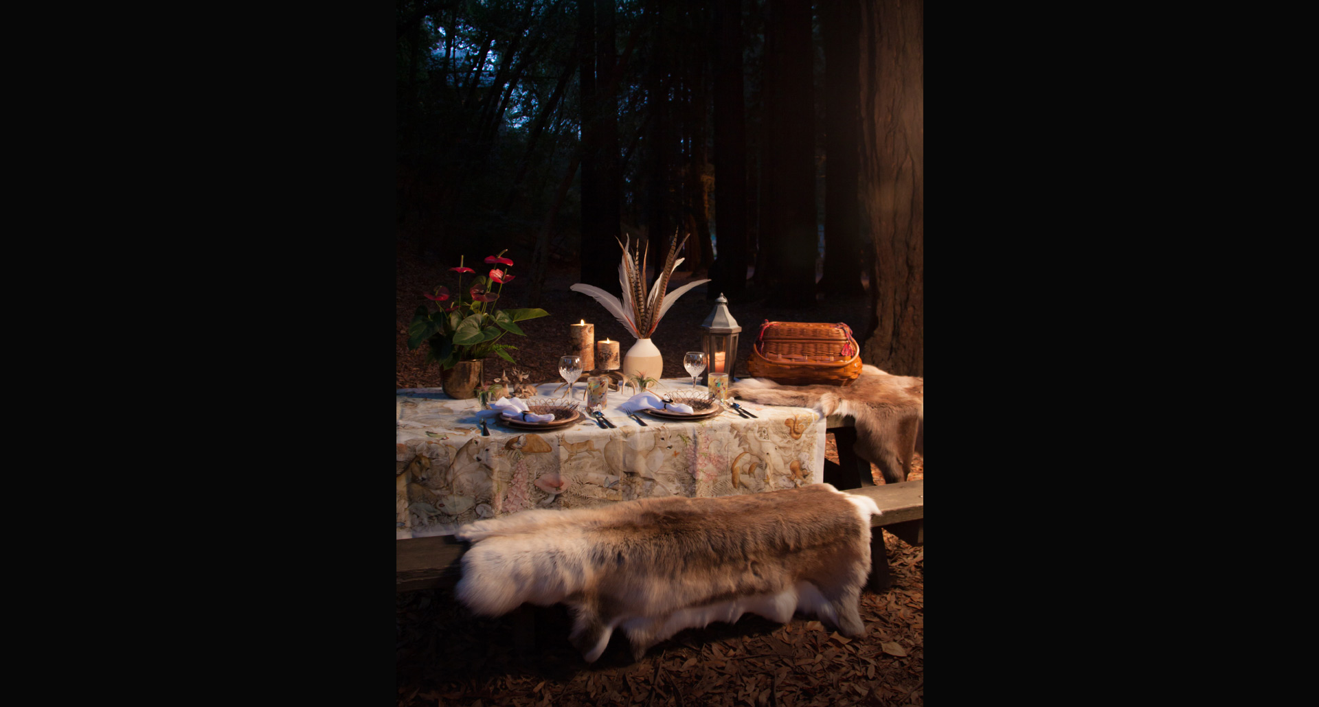 Rustic Chic Table