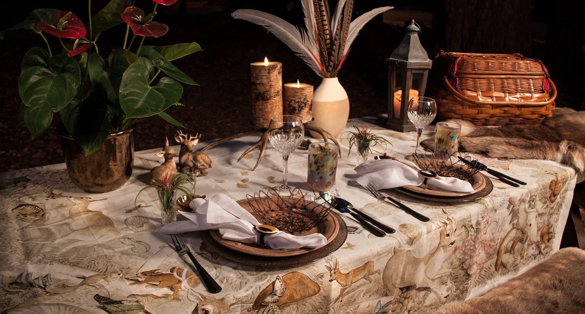 Rustic Chic Table Scape